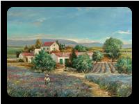 Levandulová záhrada
